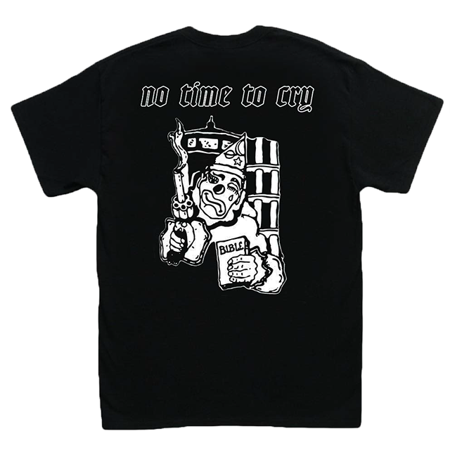 NO TIME TO CRY TEE