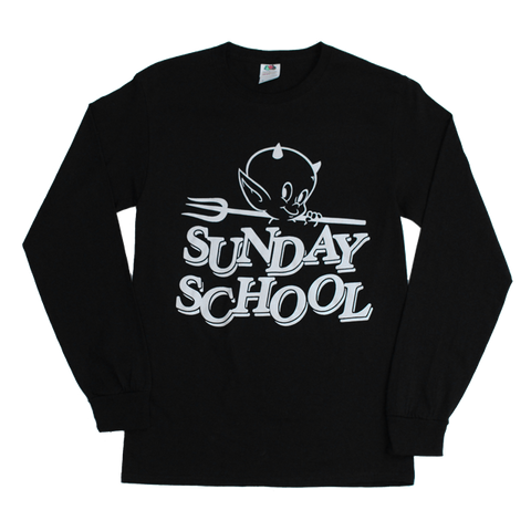 SUNDAY SCHOOL LONG SLEEVE (BLACK)