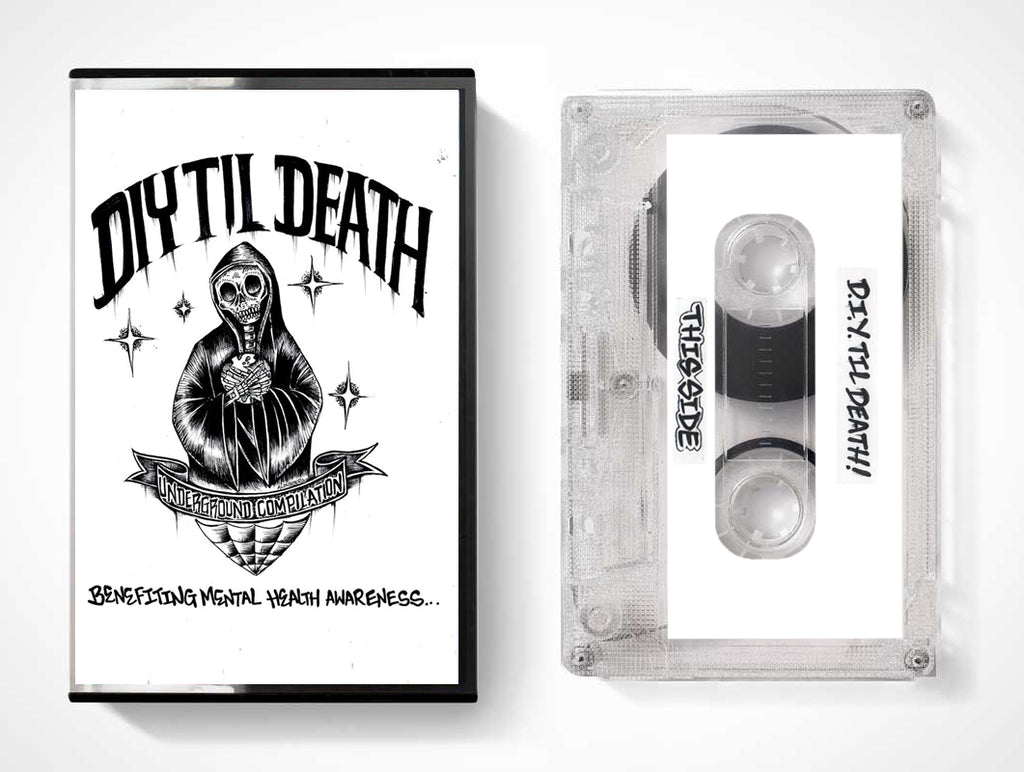 DIY TIL DEATH Benefit Compilation Cassette Bundle Pack (Pre-Order)
