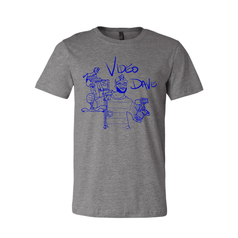 Video Dave: The Pro Set-up T-Shirt (Pre-Order)