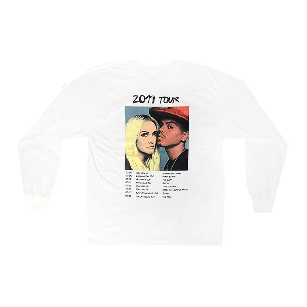 White Tour Long Sleeve