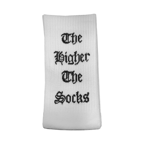 """The Higher the Socks, the Downer the Foo"" Tube Socks"