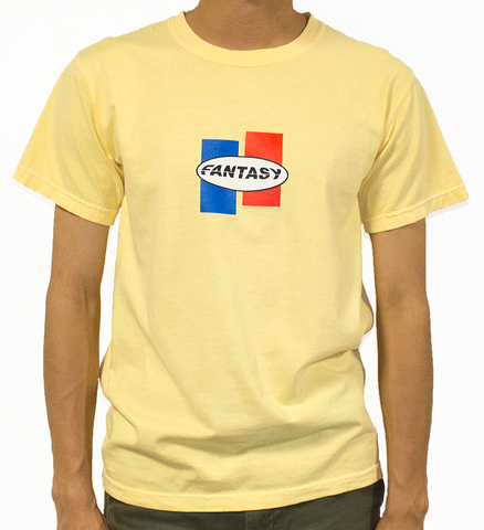 Race Logo T-Shirt - Butter