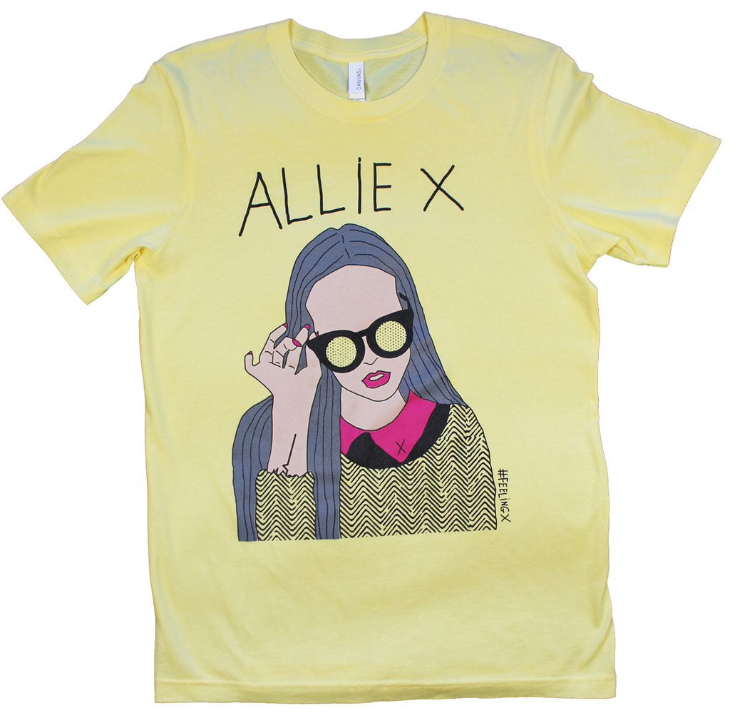 YELLOW ALLIE X TEE