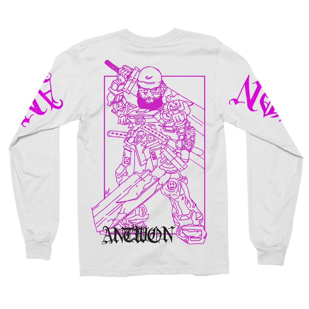 White Gundam Long-Sleeve [PRE-ORDER]
