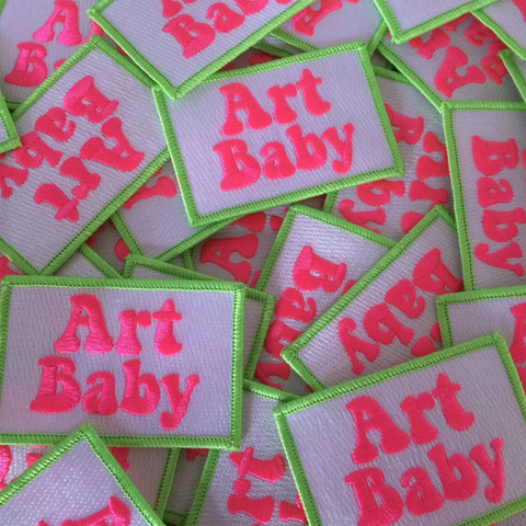 Art Baby Girl Patch