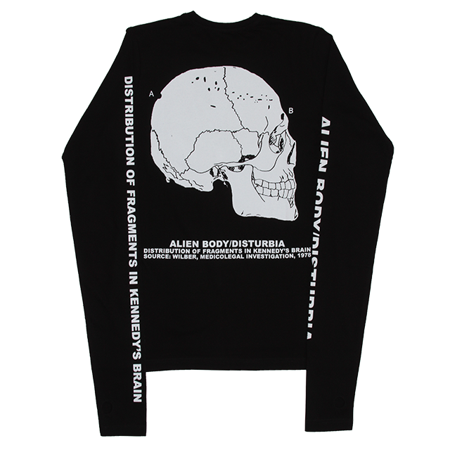JFK'S SKULL LONG SLEEVE