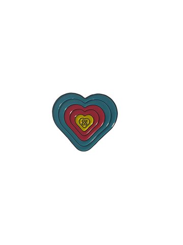 Enamel Heart Pin