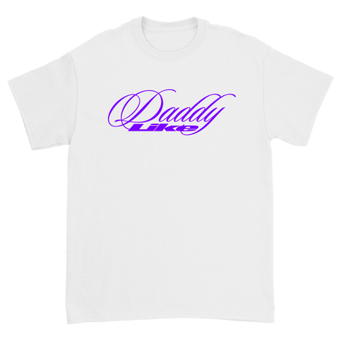 DADDY LIKE TEE - WHITE