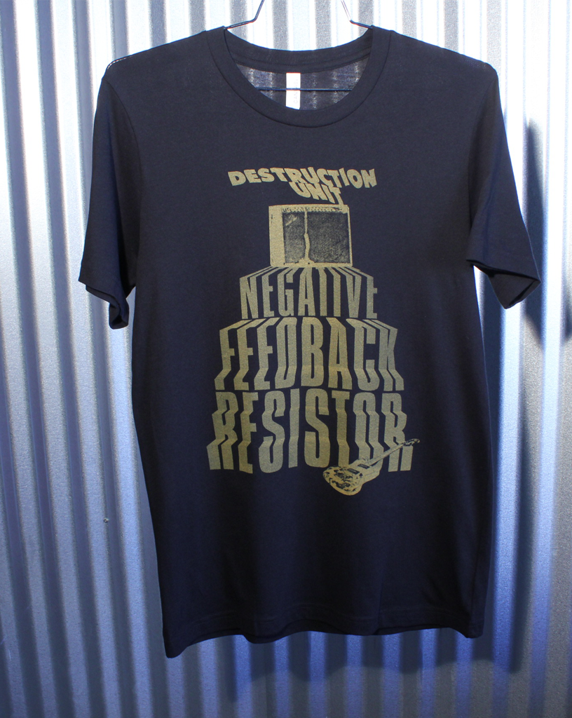 "Destruction Unit ""Negative Feedback"" Tee"