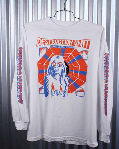 Destruction Unit x Come Tees collaborative long sleeve