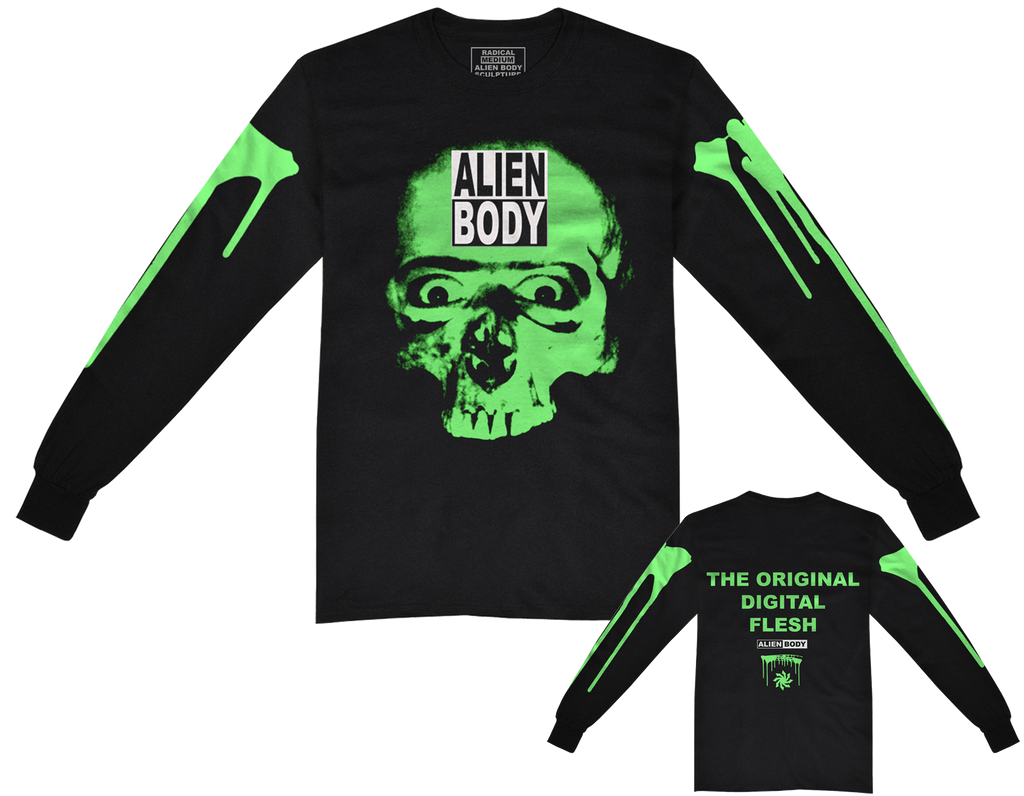 SKULL EYES LONG SLEEVE