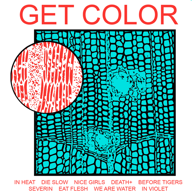 "HEALTH ""GET COLOR"" LP"