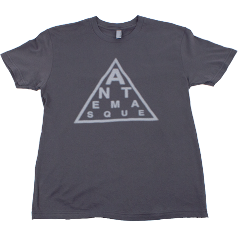 ANTEMASQUE GREY TRIANGLE TEE