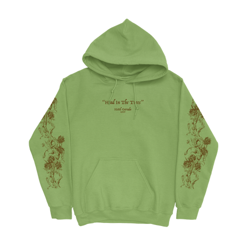 HEAD IN THE TREES HOODIE - MATCHA