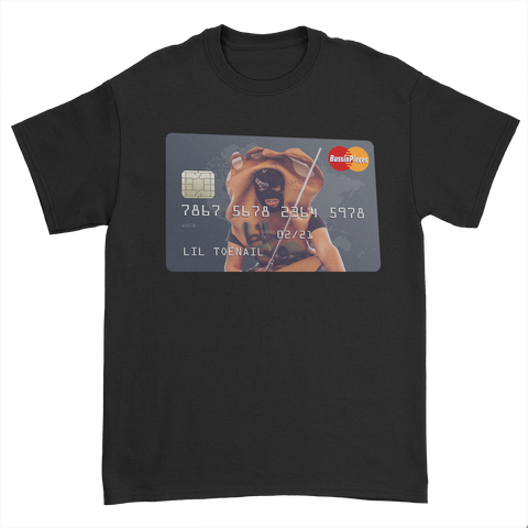 Credit Card Black Tee