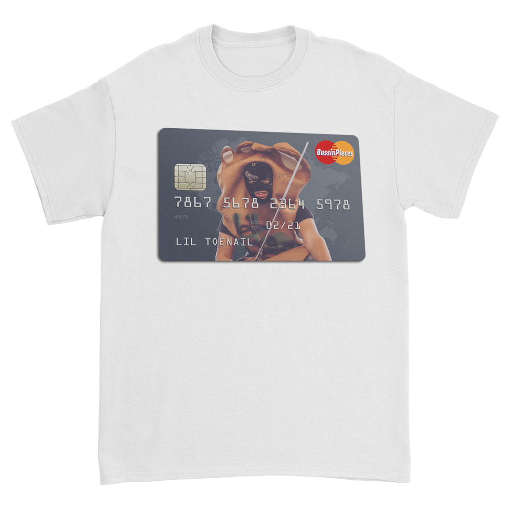 Credit Card White Tee