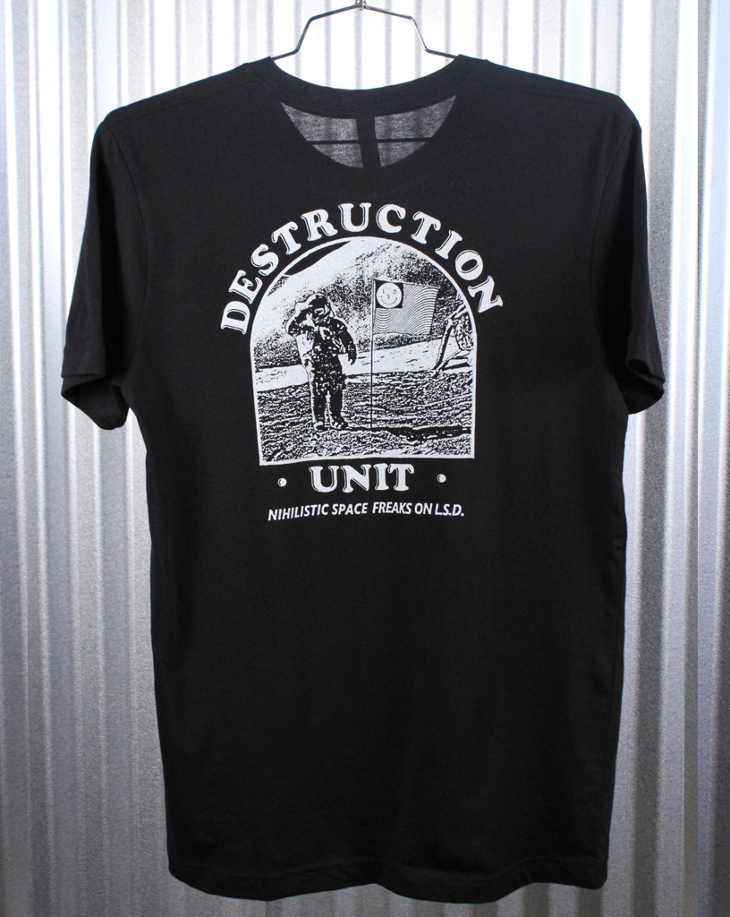 "Destruction Unit ""Nihilistic Speed Freaks on L.S.D."" Tee"