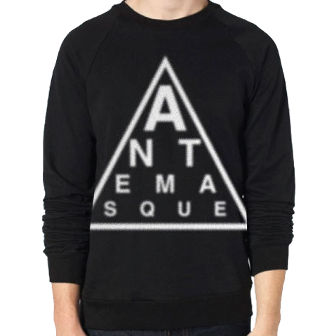 ANTEMASQUE CREWNECK TRIANGLE LOGO