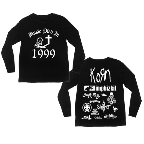 Music Died In 1999 Long Sleeve Shirt