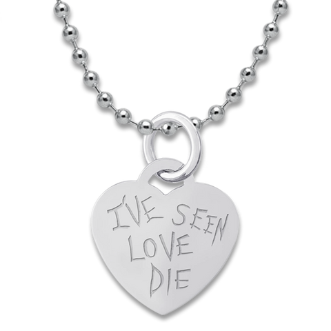 Love Dies Necklace