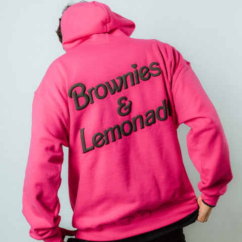Brownie World Hoodie - Pink
