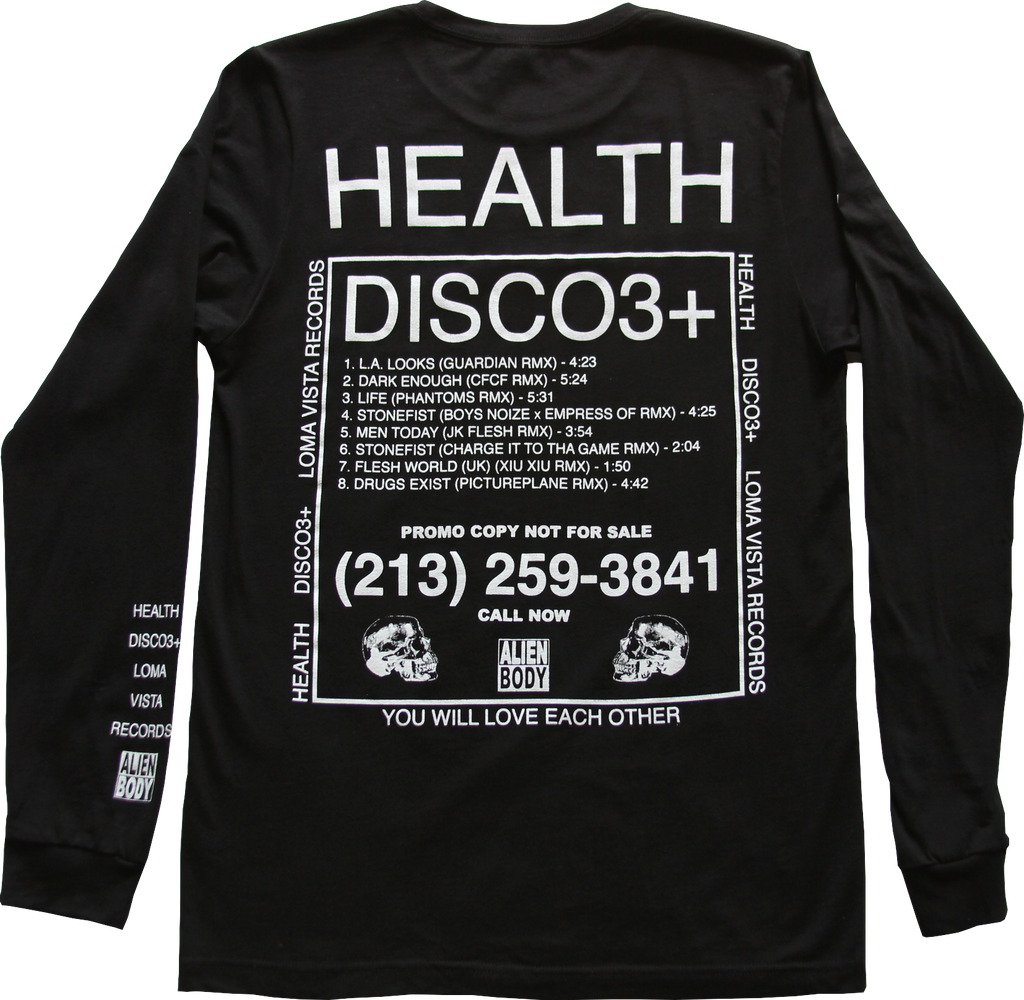 DISCO3+ ALIEN BODY LONGSLEEVE