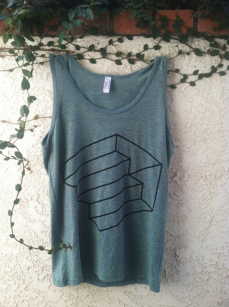 Driftless Tank Top (Ocean Green)