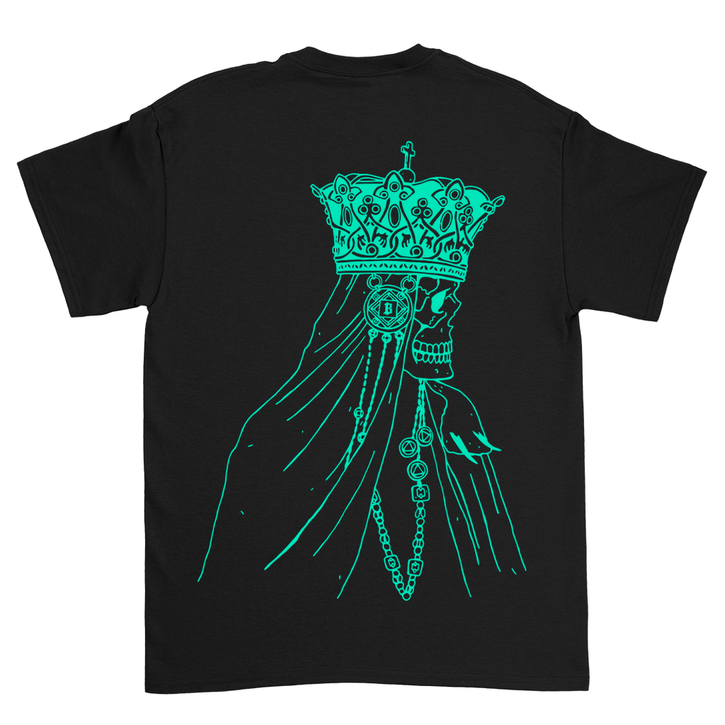 The Sadness on Black Heavy Cotton Tee