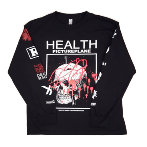 HEALTH PICTUREPLANE TOUR LONG SLEEVE