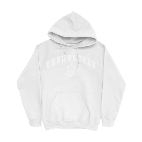 UNEMPLOYED HOODIE - WHITE