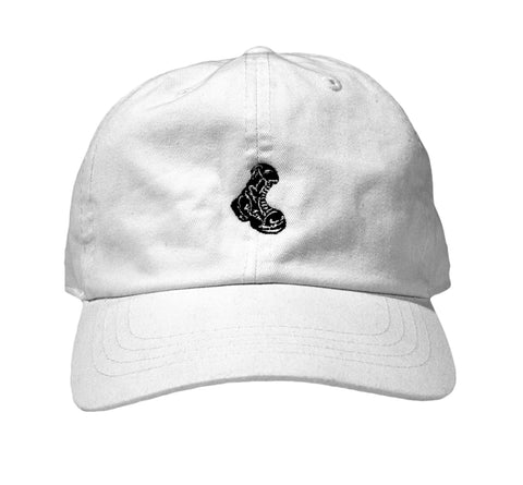 White Micro Boot Cap