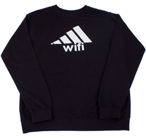 WIFI CREWNECK SWEATER