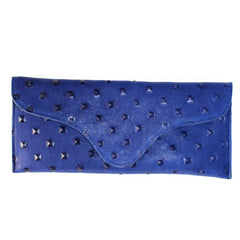 Blue Pyramid Clutch