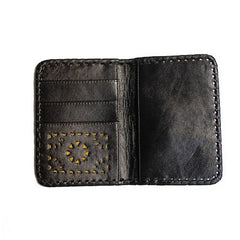 Mexicana Soft Passport Holder in Gunmetal