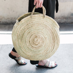 Large Woven Beach Bag