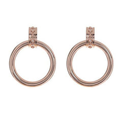 Evil Eye Statement Hoops