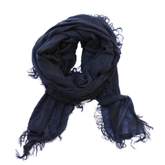 Distressed Scarf in Slate