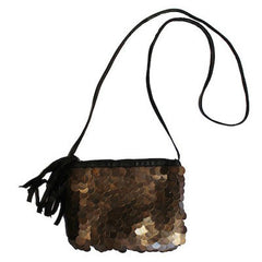 Wolf Crossbody in Bronze