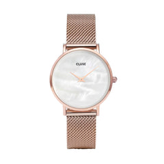 Cluse Mother of Pearl Rosegold Watch