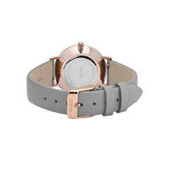 Grey and Rosegold Watch
