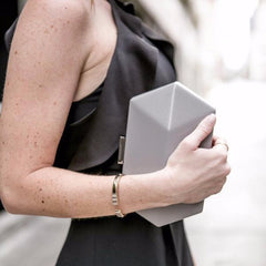 Flora Etched Clutch