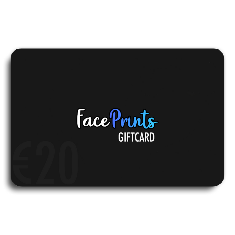 FacePrints Cadeaubon (Last Minute Gift)