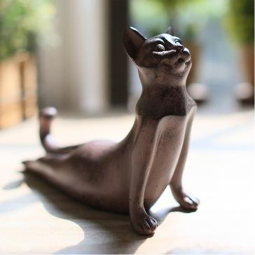 bouddha chat yoga