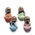 "Statuette Bouddha Assis <br> Collection 4 Statuettes ""Ne Pas"" (9,8 cm)"