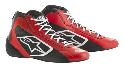 Alpinestars Boots Tech 1-K Start Black | White | Red