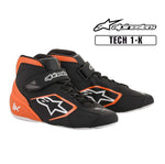 Alpinestars Boots Tech 1-K Black | White | Orange