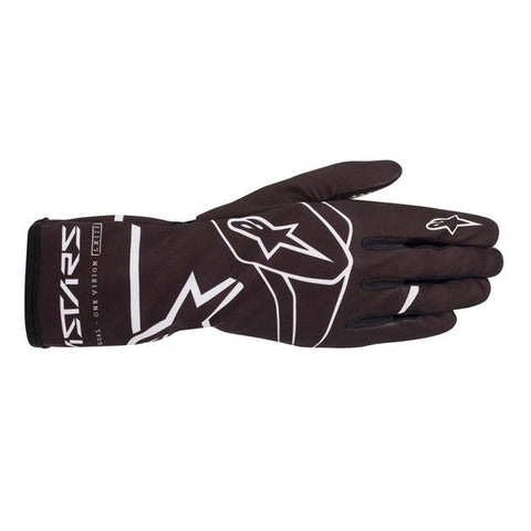 Alpinestar Gloves Tech 1 K Race V2 Solid Black | White