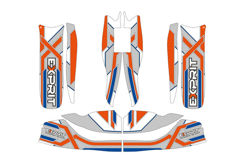 Exprit Sticker Kit - Suits M6 Body/M7 Nassa - OTK