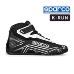 Sparco Kart Boot K-RUN Black | Grey (NRGR)
